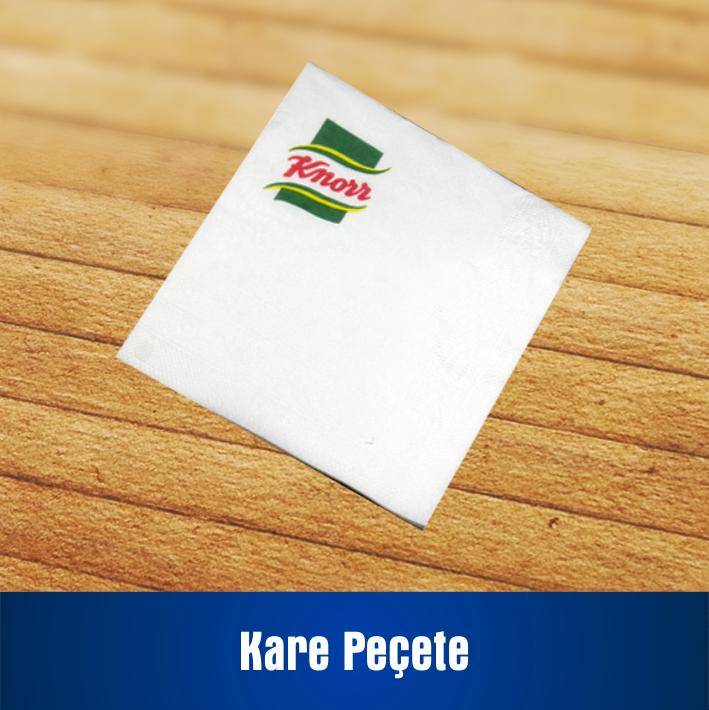 Kare Peçete